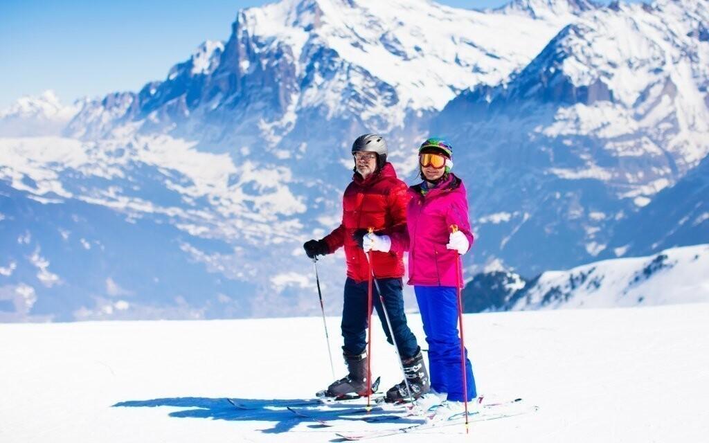 Na alpských svazích si skvěle zajezdíte i na snowboardu