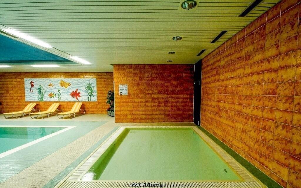 K dispozici je i dětský bazén