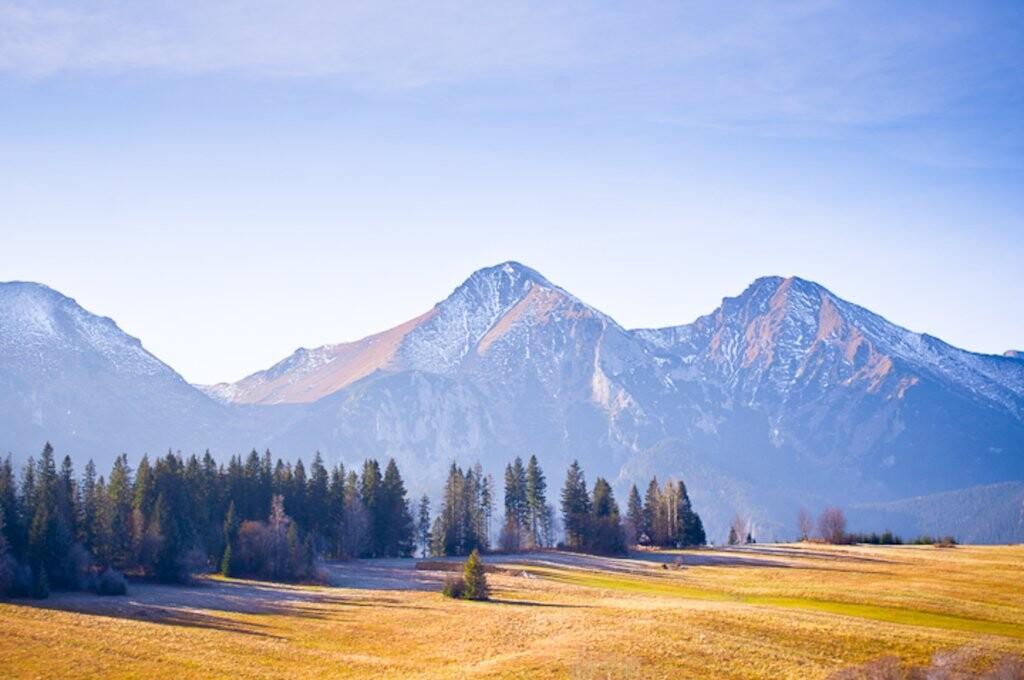 Výhľad na Belianske Tatry, Slovensko