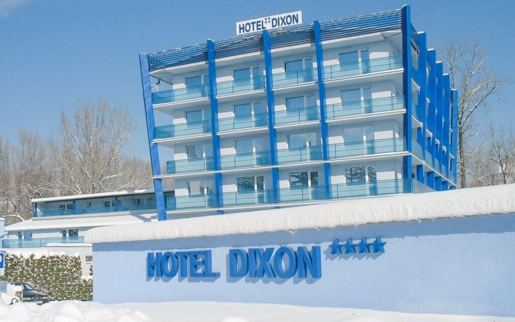 Hotel Dixon **** stojí v klidné části Banské Bystrice