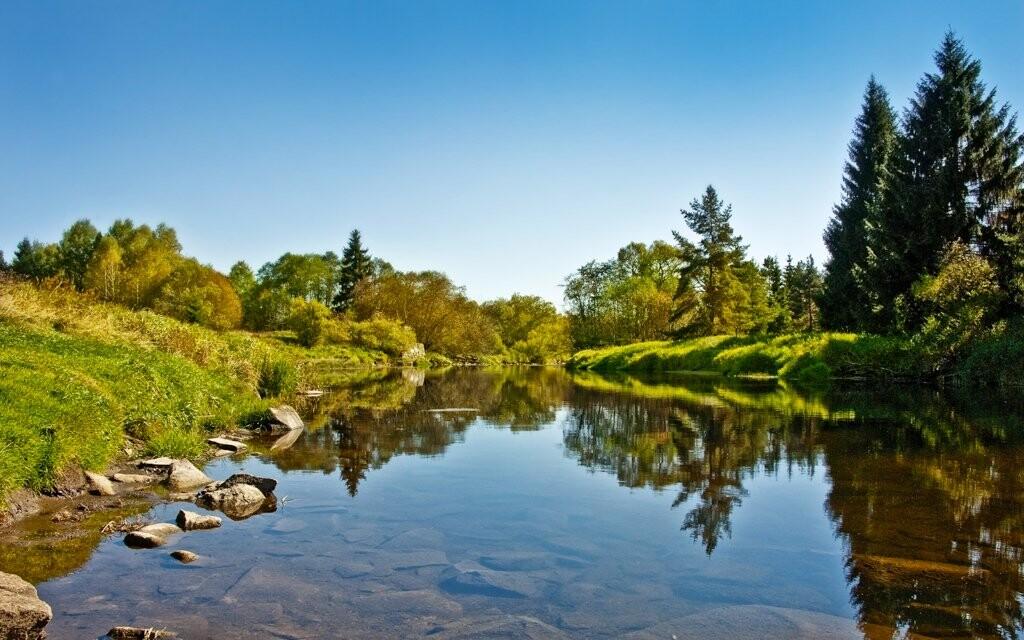 Šumavský národní park, krásná příroda a jezera