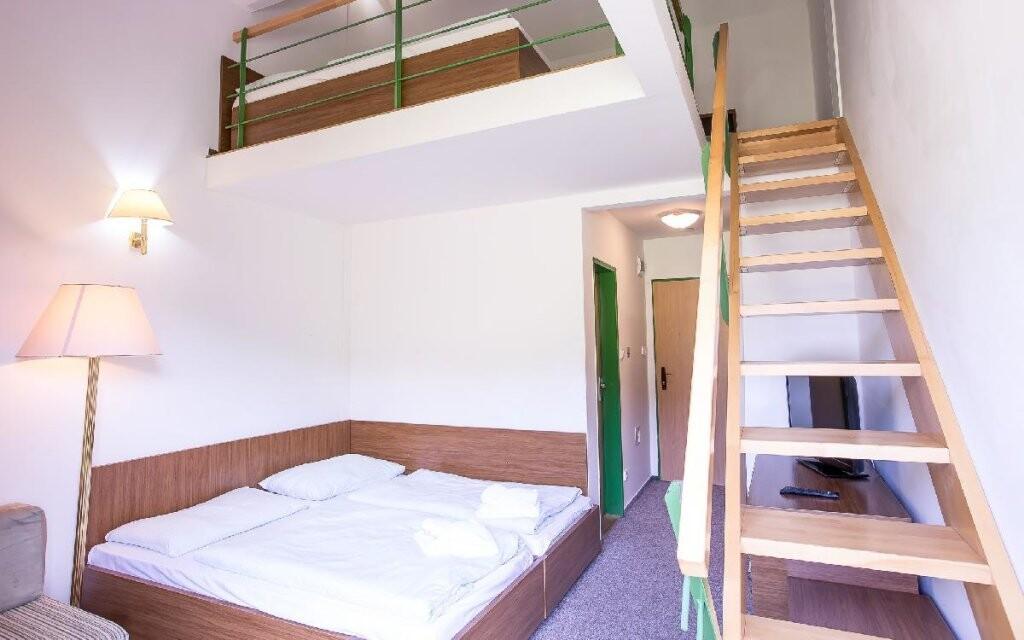 I zdejší ubytování je stylové