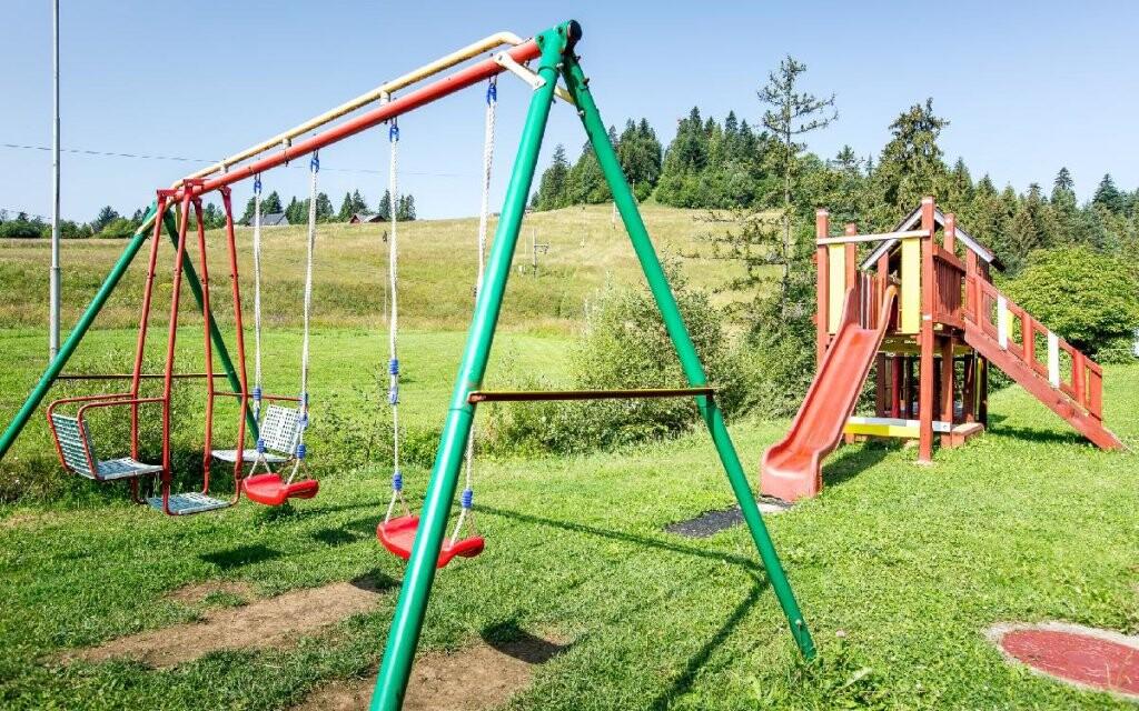 Dětské hřiště, Penzion San André ***, Pieniny, Slovensko