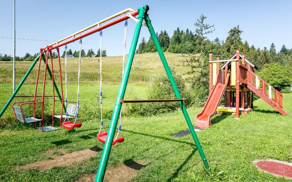 Detské ihrisko, Penzión San André ***, Pieniny, Slovensko