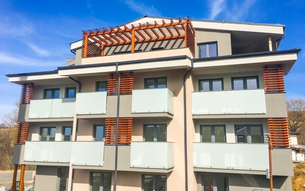 Apartmány Pulse jsou nově postavené