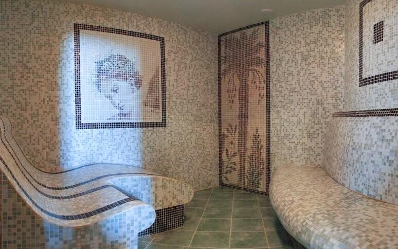 Římské lázně, parní sauna, Podhájska Slovensko