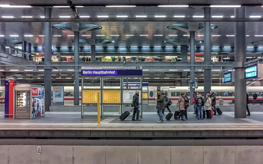 A&O Berlin Hauptbahnhof leží kousek od nádraží