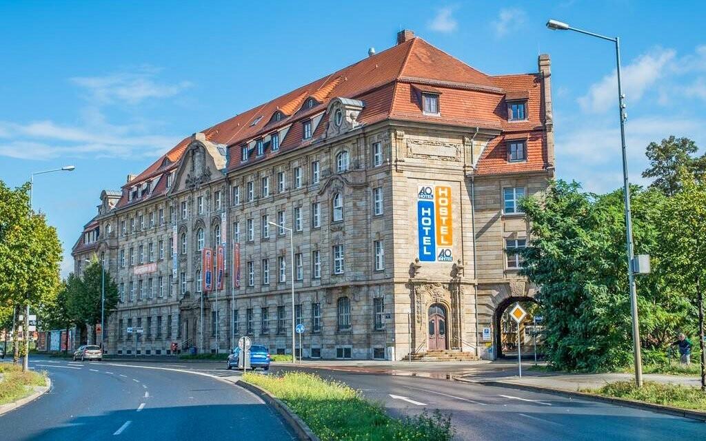 Ubytujte sa v historickom hoteli A&O Leipzig Hauptbahnhof