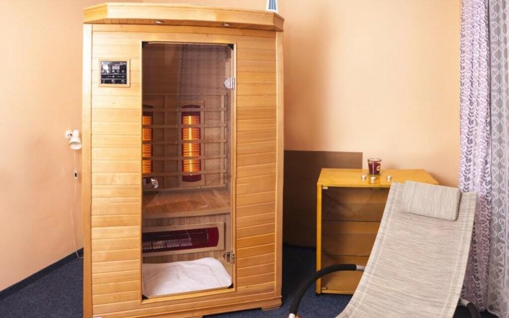 V hotelu najdete také infra saunu