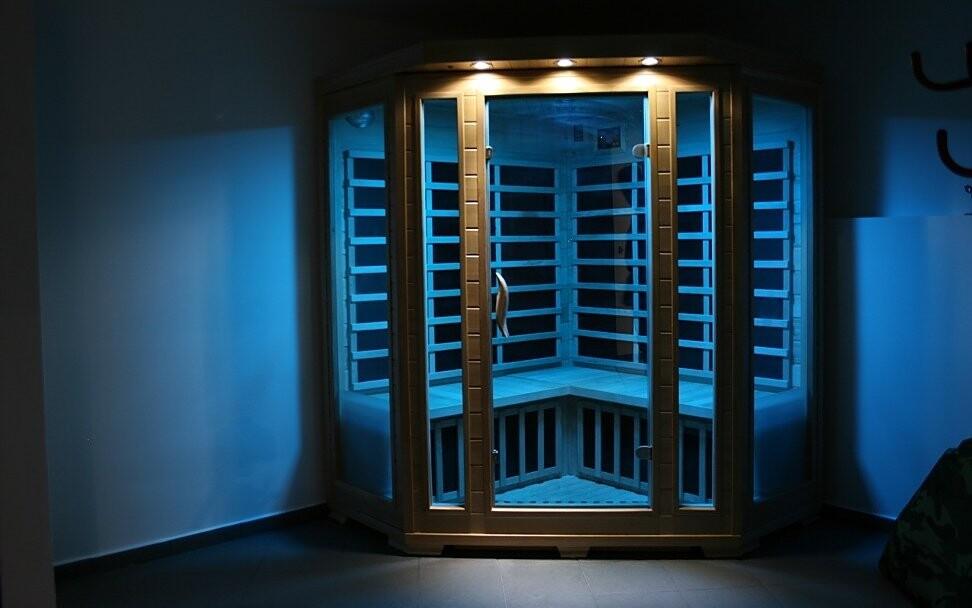 Anebo využijte parní či infra saunu