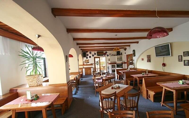 V hotelové restauraci si můžete vychutnat polopenzi