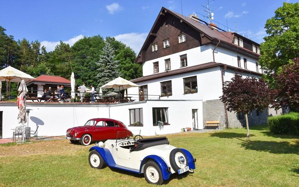 Hotel Hrazany v Sedlčanoch pri Slapskej priehrade