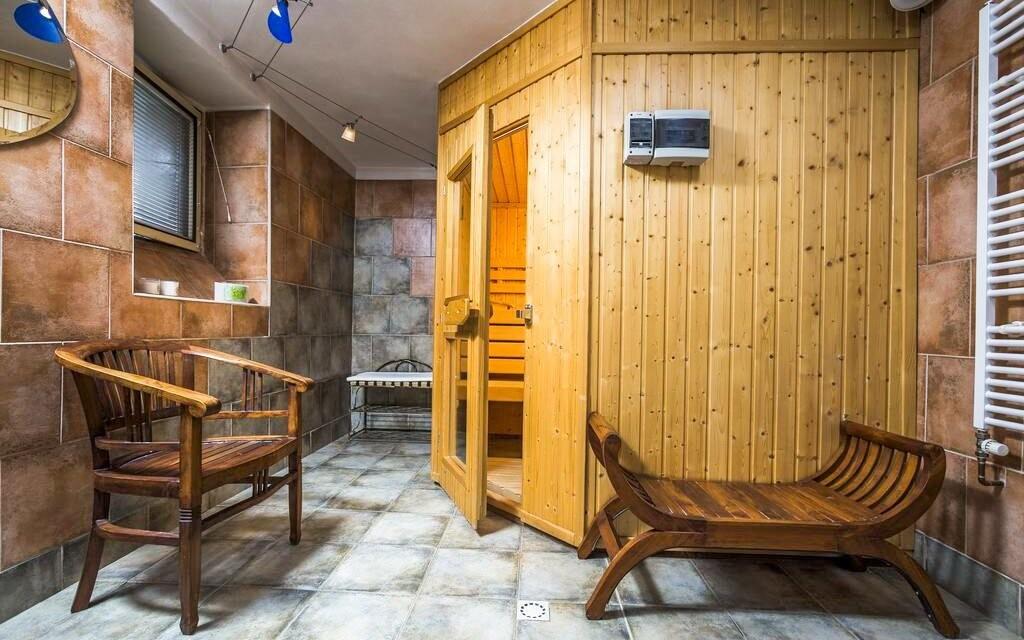 Zajděte si do finské sauny