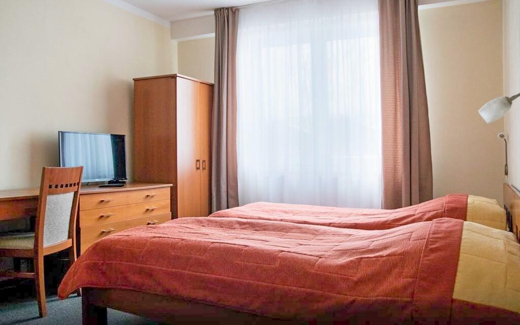 Ubytováni budete v pěkných pokojích Komfort