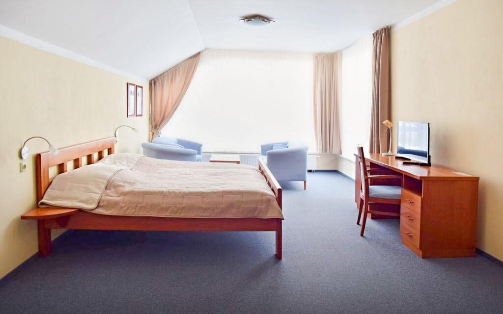 Za příplatek můžete bydlet v pokojích vyšší kategorie