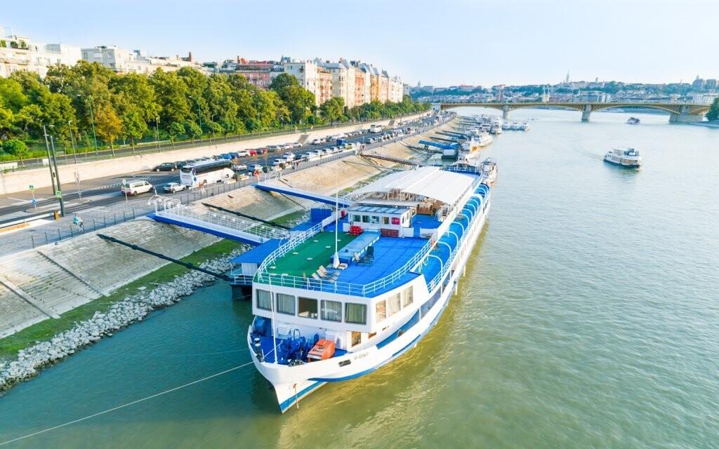 Originálny Fortuna Boat Hotel *** v Budapešti