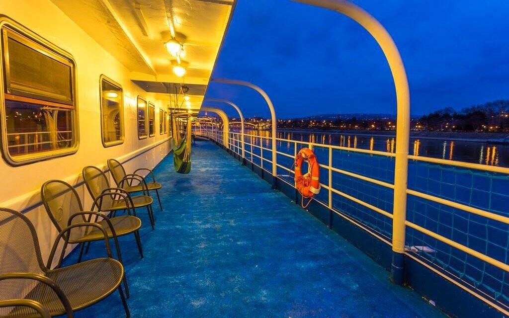 Užite si skvelý výhľad na Dunaj