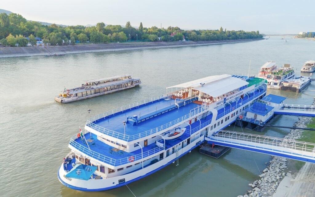 Originální Fortuna Boat Hotel *** v Budapešti