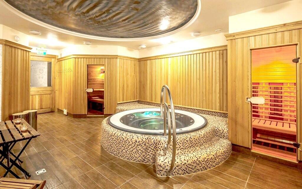 Užijte si vířivku a sauny