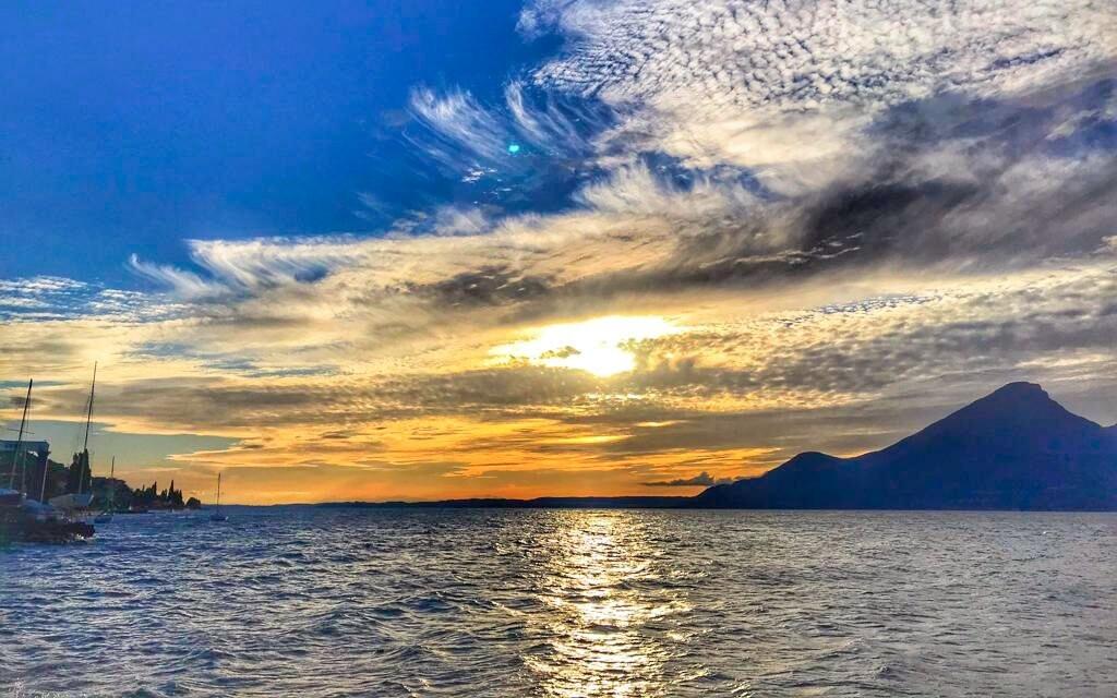 Lago di Garda je největší italské jezero