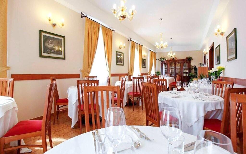 V restauraci vás čeká vynikající polopenze