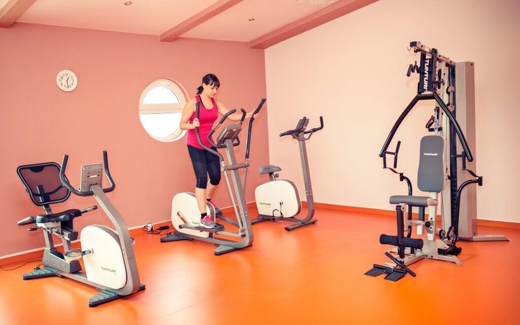 Máte také neomezený vstup do fitness
