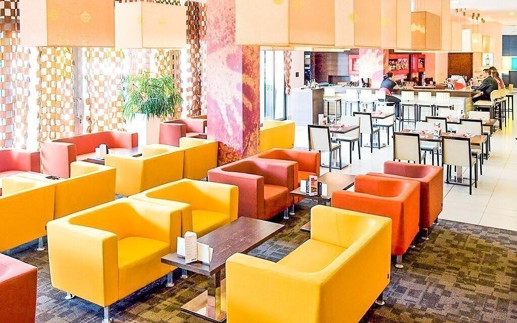 Farebne zladené interiéry hotela