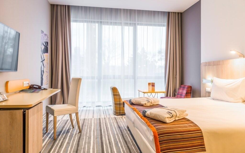 K dispozici jsou i luxusní zrekonstruované pokoje