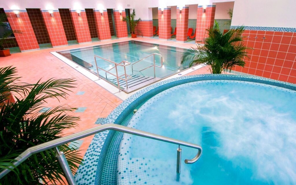 Kousek od hotelu leží Spa & Aquapark Turčianske Teplice