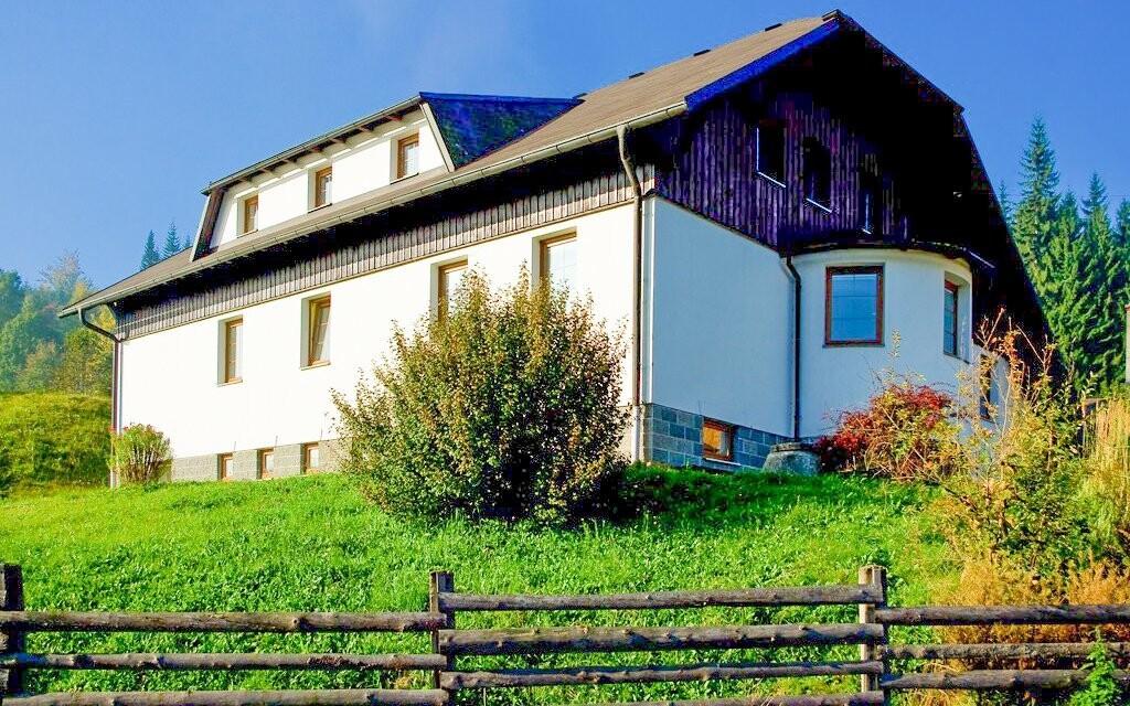 Penzion Pepovka stojí v CHKO Hrubý Jeseník