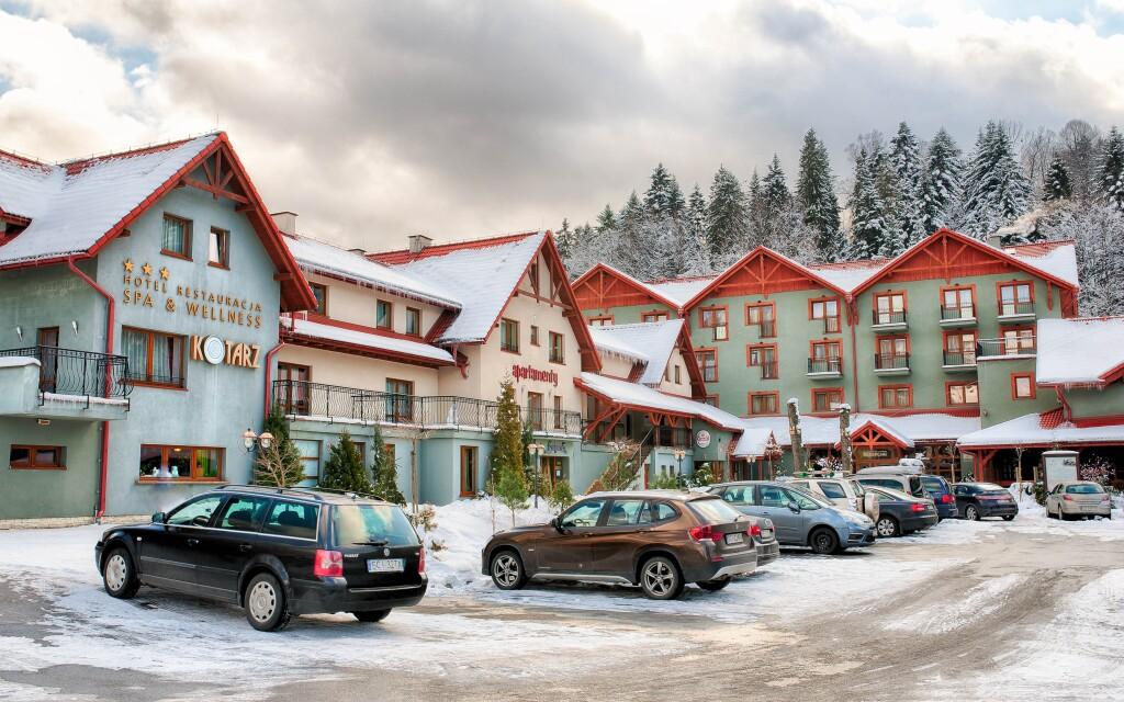 Hotel Kotarz Spa & Wellness ***  polské Beskydy