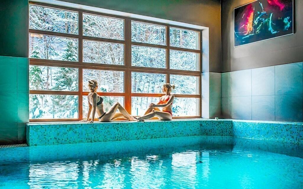 Užite si neobmedzený vstup do hotelového wellness
