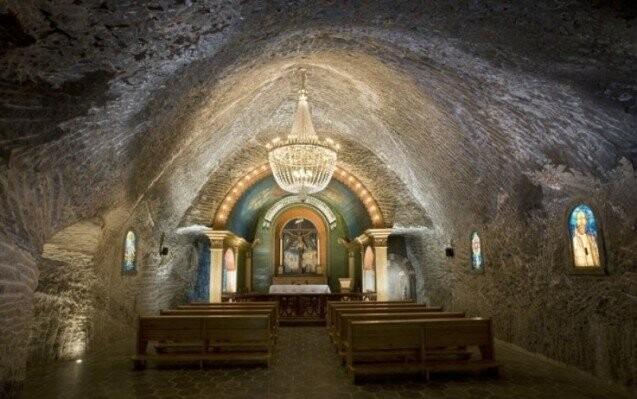 Solný důl Wieliczka u Krakova, památka UNESCO