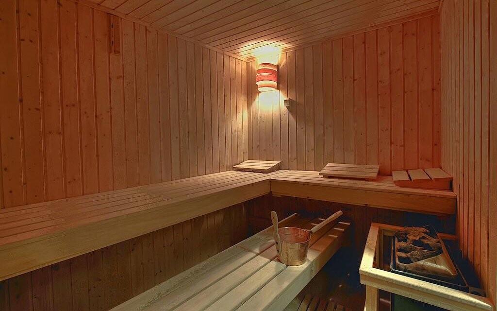Zajít si můžete i do sauny