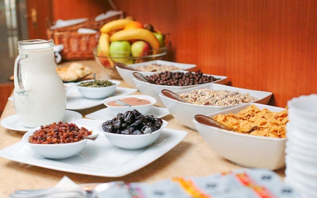 Na výběr budete mít ze slaných i sladkých pokrmů