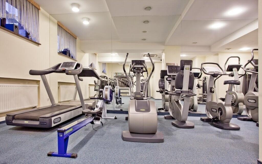 Nájdete tu i fitness