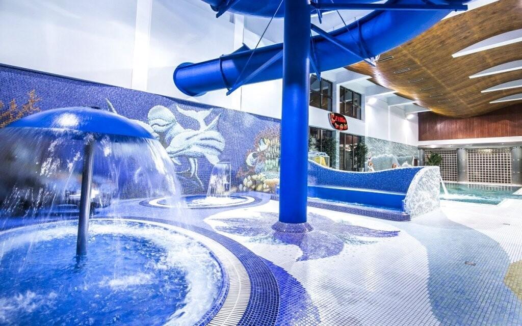Užijte si volného vstupu do nedalekého aquaparku