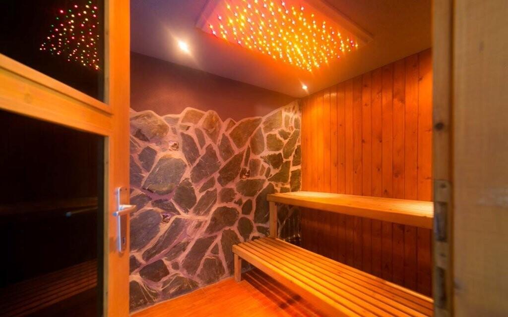 Po náročném dni oceníte odpočinek v sauně
