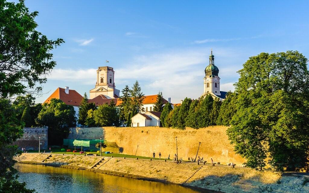 Historické centrum města Györ, Maďarsko