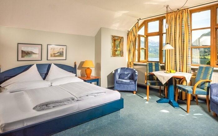 Izby sú vybavené v alpskom štýle