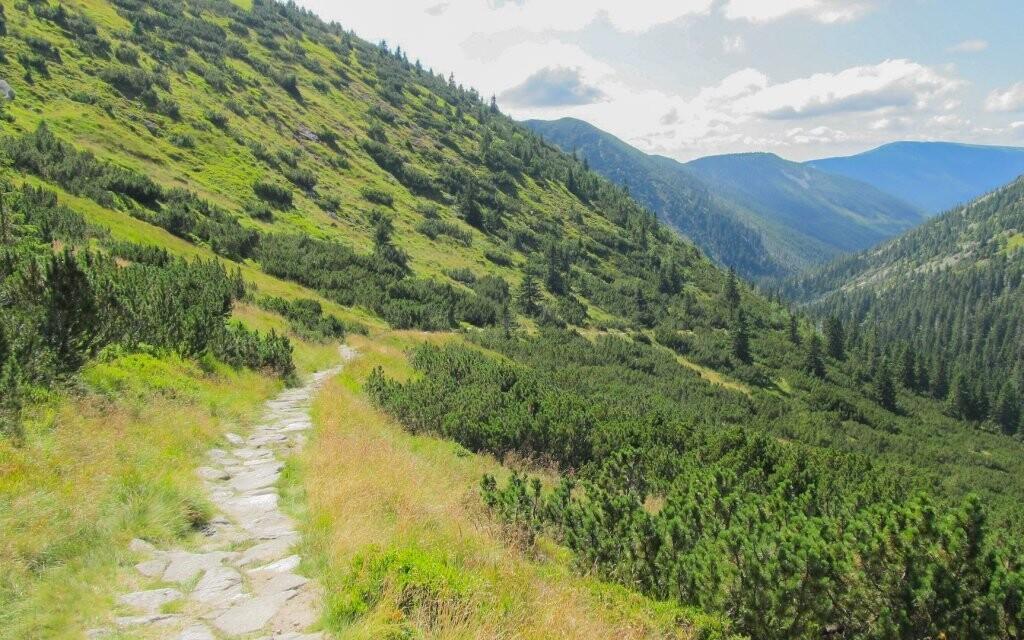 Národní park Krkonoše je lákavé místo pro odpočinek