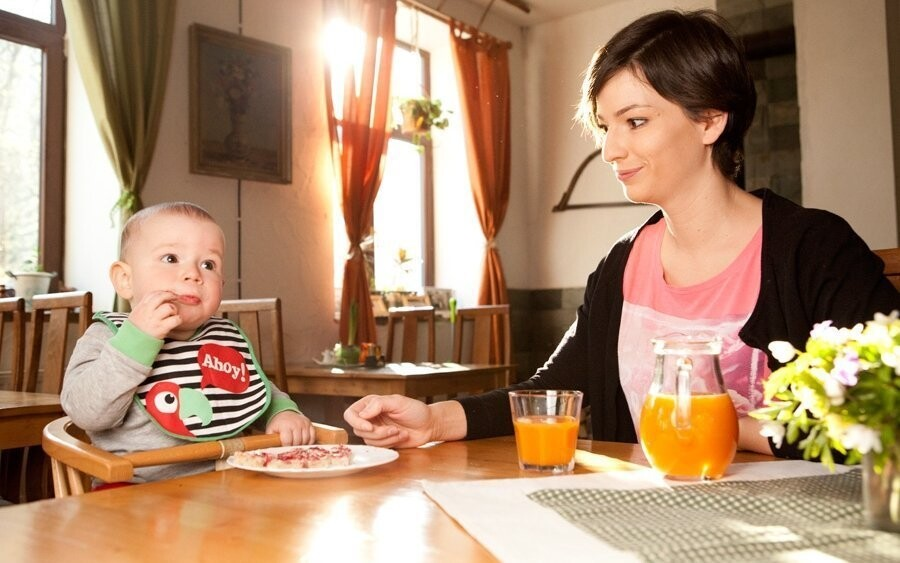 Pobyt je vhodný i pro rodiny s dětmi