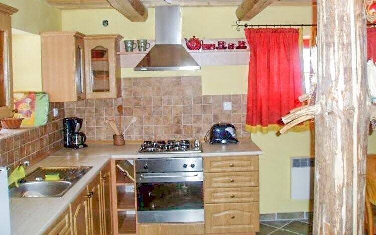 Součástí chaty je plně vybavená kuchyně