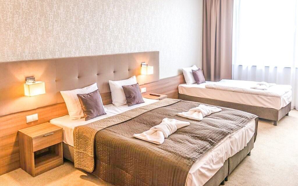 V Hotelu Thermalpark *** na vás čekají pohodlné pokoje