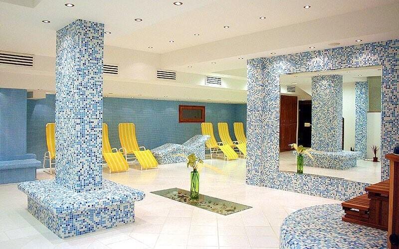Hotel disponuje krásným wellness centrem