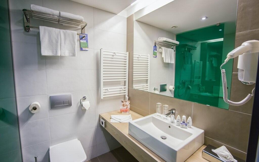 Štandardné izby sú komfortne vybavené