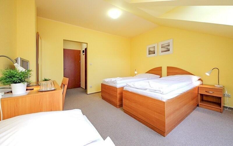 Komfortné dvojlôžkové izby ponúkajú všetko, čo potrebujete