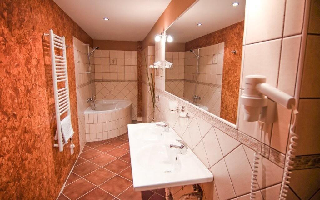 Těšte se také na velkou koupelnu