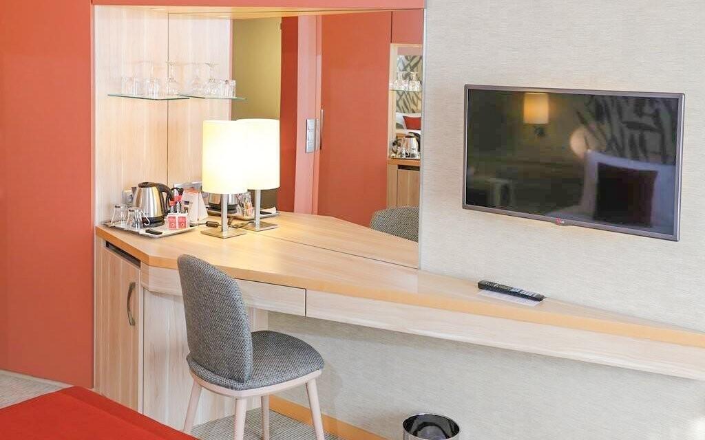 Dvoulůžkové pokoje s možností přistýlky jsou komfortní