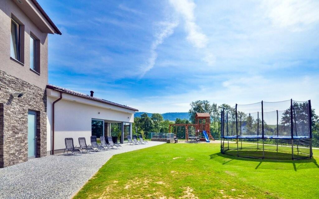 Sport hotel Dolní Morava *** Orlické hory vonkajšie ihrisko